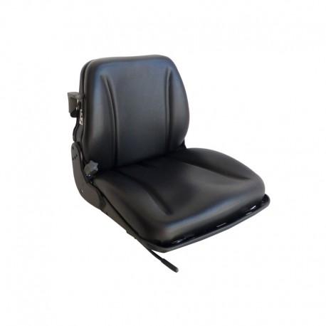 Sedile Omologato con Molleggio Incorporato Trattore Muletto e Carrello Elevatore