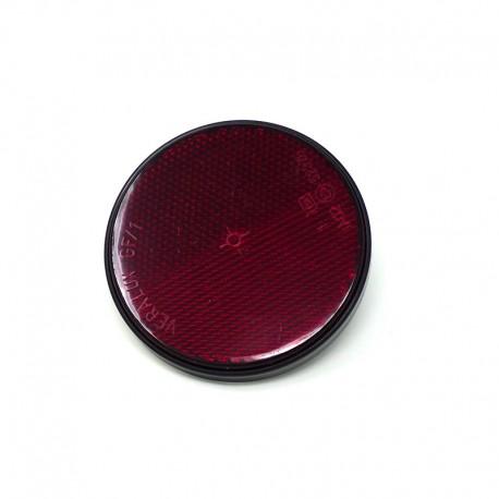 Catarinfrangente Rosso Ø 60 mm con Vite M5