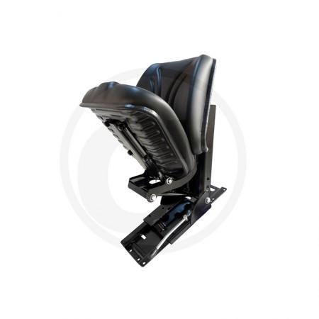 Sedile Trattore Granit per applicazione obliquo, seduta reclinabile PVC 24000090