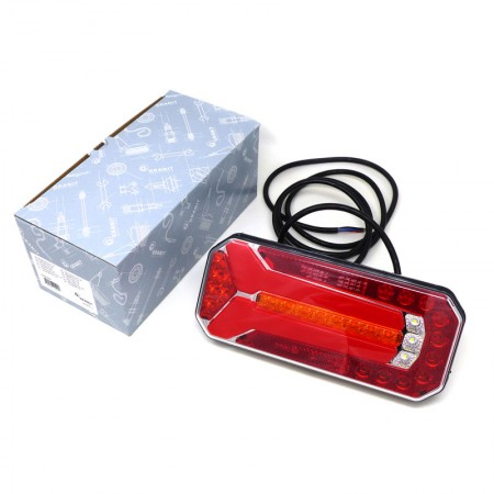 Fanale Posteriore a LED Omologati Granit per Rimorchio con Perni Fissaggio M6 7070010022